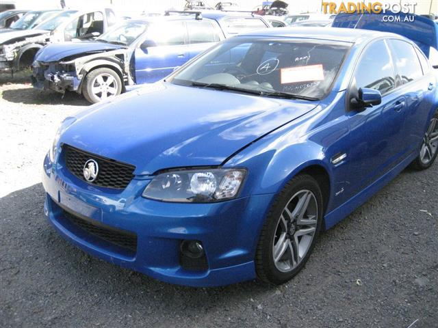 Commodore Ve Sii 2011 Sedan For Wrecking For Sale In