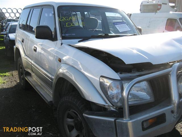 TOYOTA PRADO 2001 FOR PARTS (COMPLETE CAR FOR WRECKING)