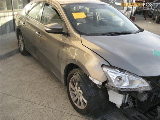 NISSAN PULSER B17 2014 SEDAN FOR PARTS (COMPLETE CAR)