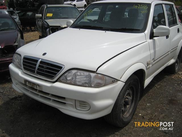 SANG YONG MUSSO 2005 UTE TURBO DIESEL ENGINE (96,000KM CAN HEAR RUNNING)
