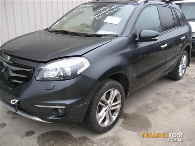 RENAULT KOLEOS 2011 FOR PARTS & WRECKING ( COMPLETE CAR)
