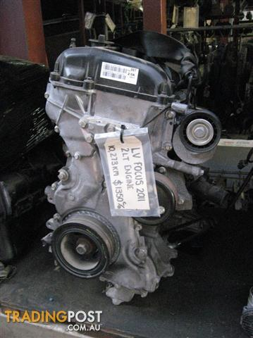 FORD FOCUS LV 2LT ENGINE, VERY LOW KMS UNDER 20,000KM