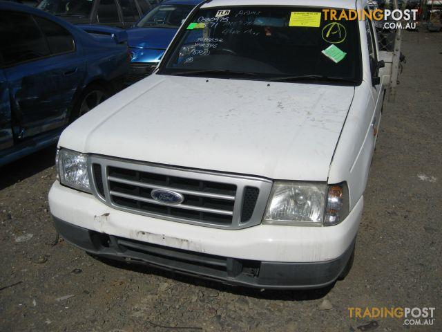 FORD COURIER 2005 2WD (complete ute for wrecking)