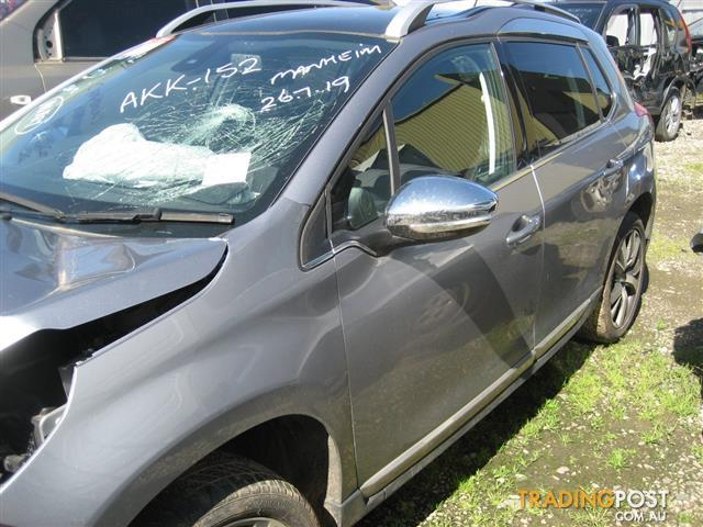 PEUGEOT 2008 (2014 MODEL) OUTDOOR TOURING FOR WRECKING , COMPLETE CAR