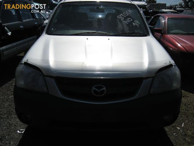 MAZDA TRIBUTE 2003 FOR PARTS (WRECKING COMPLETE VEHICLE)