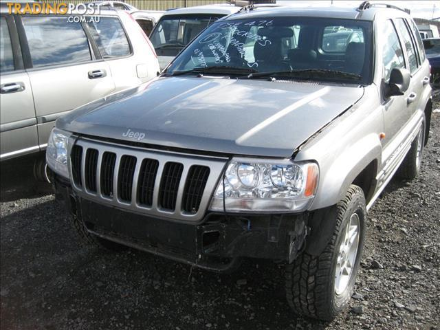 JEEP CHEROKEE WJ GRAND 2001 V8 FOR WRECKING