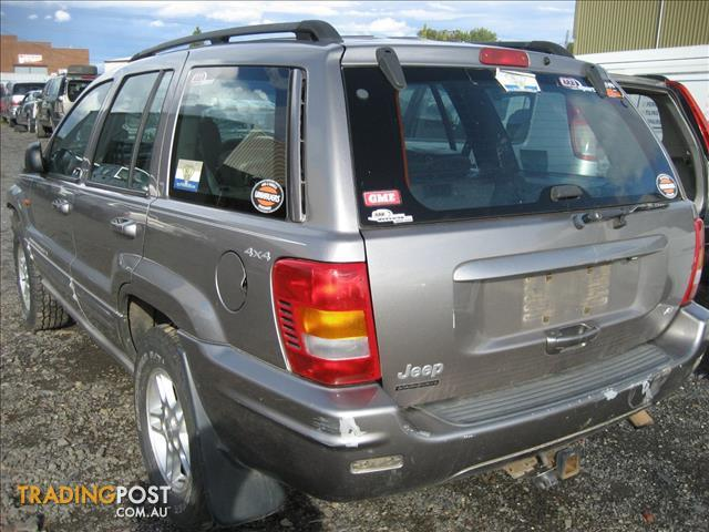 Jeep Cherokee Wj Grand 2001 V8 For Wrecking For Sale In Campbellfield Vic Jeep Cherokee Wj