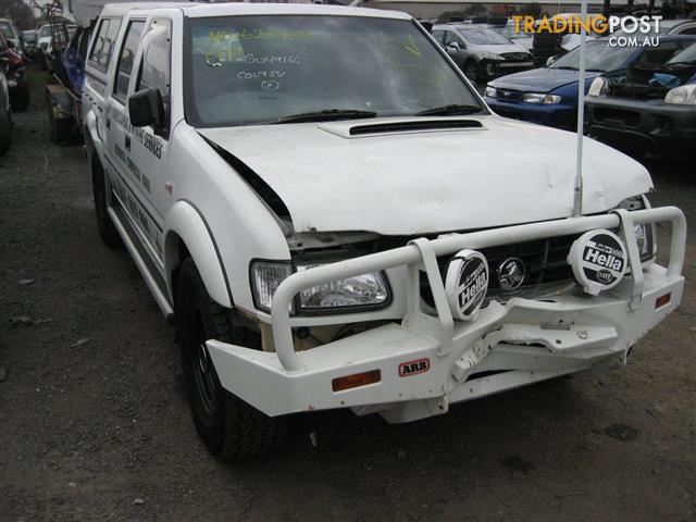 HOLDEN RODEO 2002 FOR WRECKING, MANY PARTS