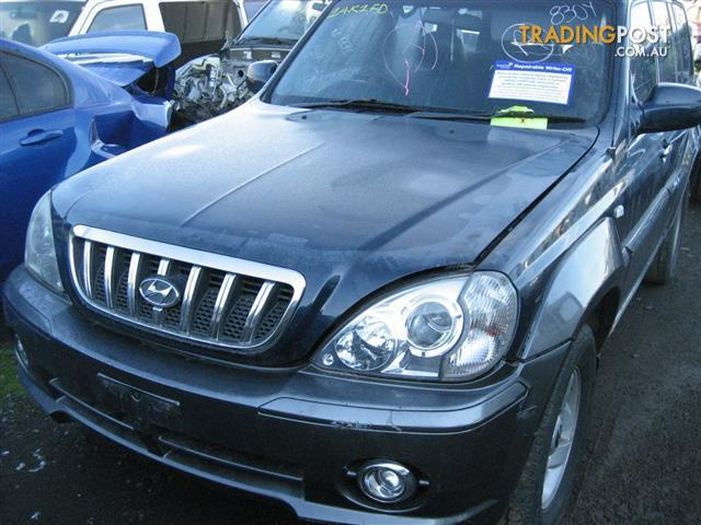 HYUNDAI TERRACAN 2003 V6 FOR PARTS (COMPLETE CAR)