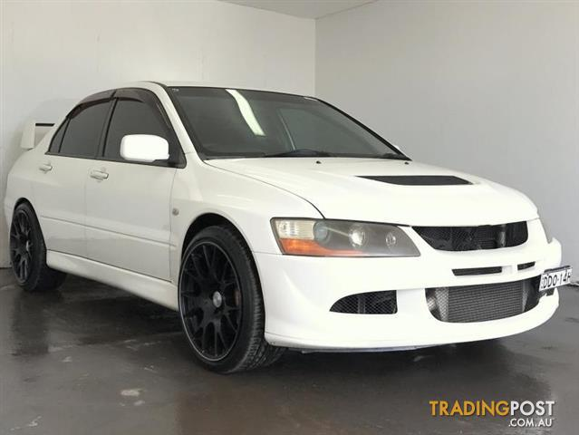 2004 mitsubishi lancer evolution viii cz sedan for sale in cabramatta nsw 2004 mitsubishi. Black Bedroom Furniture Sets. Home Design Ideas