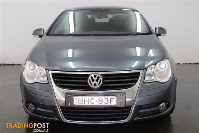 2008 volkswagen eos 103tdi 1f convertible for sale in. Black Bedroom Furniture Sets. Home Design Ideas