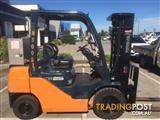 Toyota 8FD25 Diesel Counterbalance Forklift