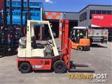 Nissan H01A15 LPG / Petrol Counterbalance Forklift