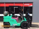 Mitsubishi FG30 LPG / Petrol Counterbalance Forklift