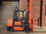 Toyota  LPG / Petrol Counterbalance Forklift