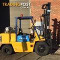 Komatsu FG45 LPG / Petrol Counterbalance Forklift