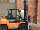 Toyota 02-7FG35 LPG / Petrol Counterbalance Forklift