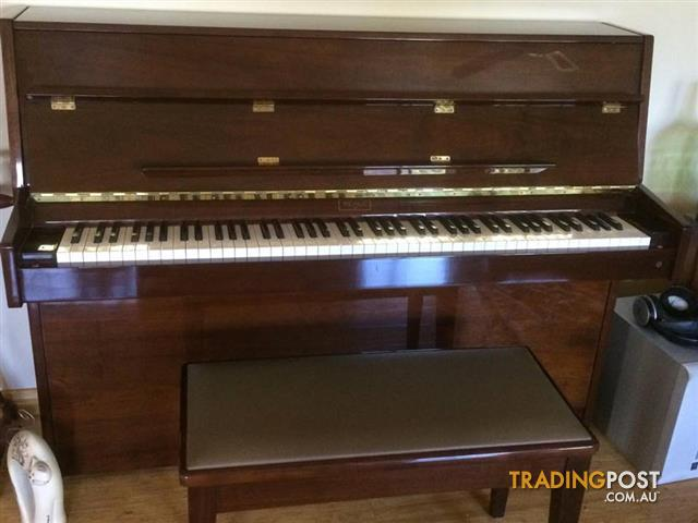 Beale upright Piano with Ivory keys