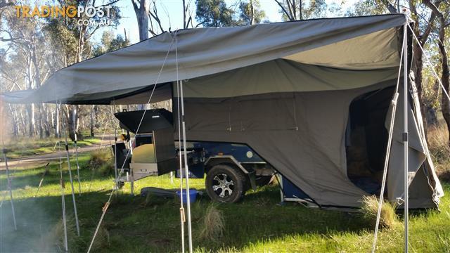 2014 Offroad Bluewater Flinders Rear Fold Camper Trailer