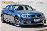 2012 HOLDEN COMMODORE SV6 VE II MY12 4D SEDAN