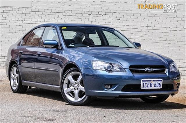 2006 Subaru Liberty 2 5i Safety My06 4d Sedan For Sale In