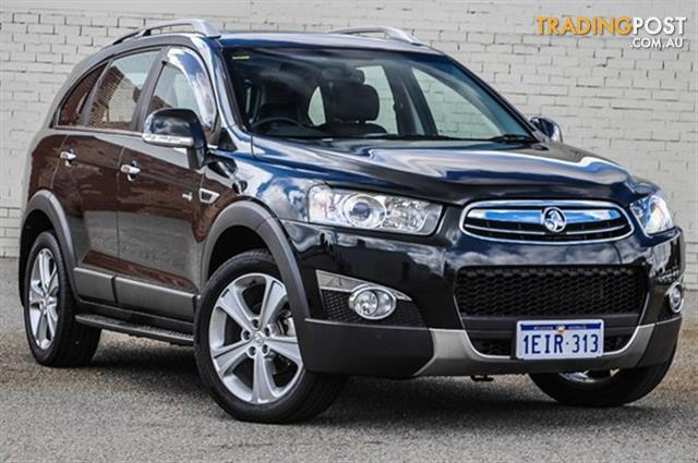 2011 Holden Captiva Lx 4x4 Cg My10 4d Wagon