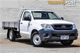 2009 TOYOTA HILUX WORKMATE TGN16R MY09