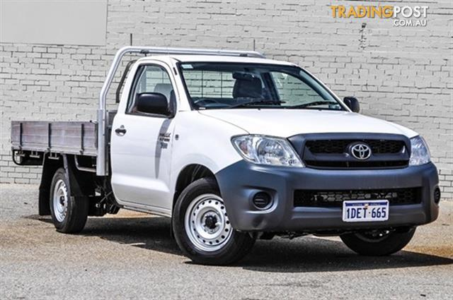 2009 Toyota Hilux Workmate Tgn16r My09 For Sale In Midland Wa 2009