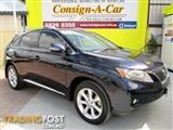 2010 Lexus RX350 Sports Luxury GGL15R Wagon