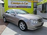 2005 Mercedes-Benz CLK240 Avantgarde C209 MY05 Coupe
