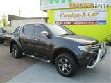 2011 Mitsubishi Triton GLX-R Double Cab MN MY12 Utility