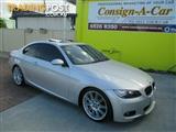2008 BMW 335i Steptronic E92 MY08 Coupe