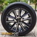 "Mazda 18"" wheels & tyres to suit 3 series"