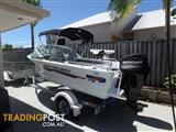 Quintrex 430 Fishabout 2016 as new condition