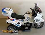 S1K Inspired Kids Rovo Electric Ride-On Patrol Motorcycle