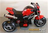 Electric Rovo Battery-Powered Kids Ride-On Motorcycle