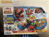 Marvel Spider-Man Adventures Web Racing Funhouse