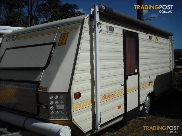 Excellent CARAVANS FOR RENT HIRE SUNSHINE COAST QUEENSLAND WINDSOR WINDCHEATER