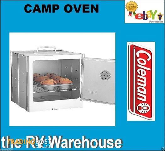 Coleman-Camp-Oven-For-Camping-Rvs-Caravans-Campfire
