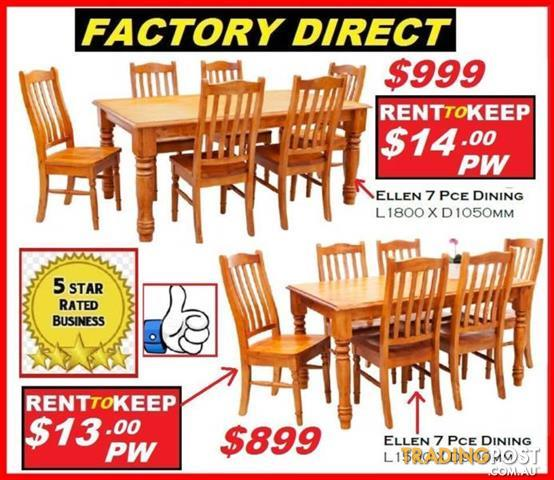 ... Dining Table with 8 Chairs. Sale! 2