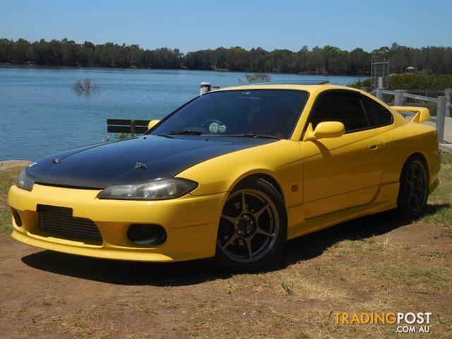 1999 Nissan Silva Spec R S15 2d Coupe
