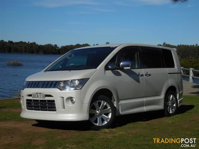 2007 Mitsubishi Delica D5 Microbus for sale in Lansvale NSW | 2007 ...