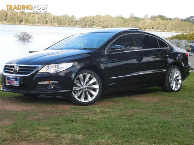 2010 volkswagen passat cc type 3cc v6 fsi coupe cc sedan for sale in lansvale nsw 2010. Black Bedroom Furniture Sets. Home Design Ideas