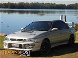 2000  Subaru Impreza Wrx Wrx Gc8 4d Sedan