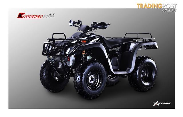 2016 ATOMIK KRUSHER 300 (4x2) 300CC 2WD ATV