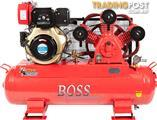 BOSS 31CFM/ 10HP Diesel Air Compressor (E/Start)