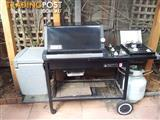 Weber Silver BBQ with a side burner and MasterChef Cover