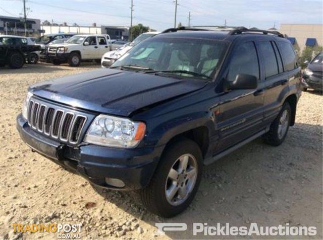 Beautiful 07/03, Jeep, Grand Cherokee, Wagon Wrecking