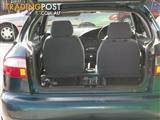 1998 Daewoo Lanos SE  Hatchback