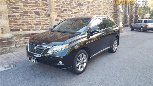 2010 LEXUS RX350 SPORTS GGL15R 11 UPGRADE 4D WAGON